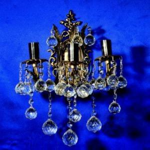 Бра Бронзовая 3 лампы №3